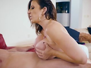 Top mature tolerant feels extreme with such young dick in her twat