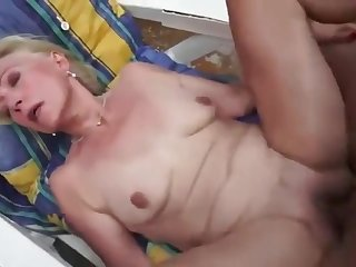 Granny gets her pussy licked and fucked