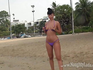 My public flashing in one beautiful morning