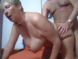 Granny Angelika Is In Love With A Huge  - kitty foxx
