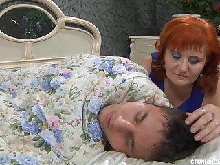 Mother Can't Ignore Her Stepson Sleepin