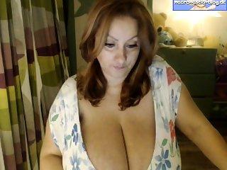 Georgie British mature solo anal masturbation