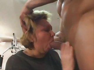 Take a look this mom , gets fucked from muscular man