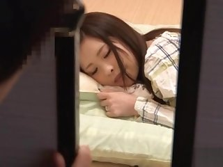 Cute Japanese milf gets a sensual