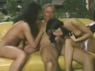 Older Man With Two Hookers -Wear-tweed