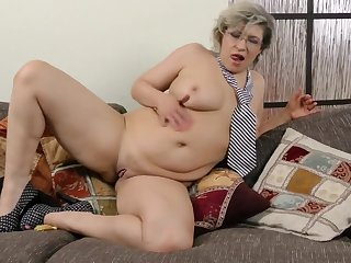 Horny older woman