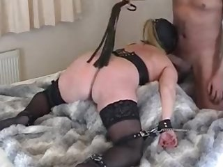 Horny Slave Girl Tied And Thoroughly Penetrated