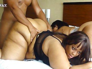 Phat Ebony Arse Make Love Compilation Video