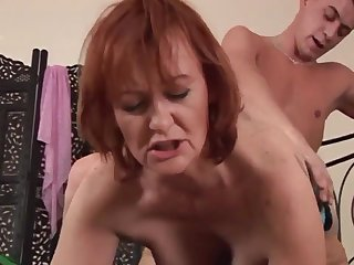 Hotness Housewife Redhead Whore Sucks And Fu - high definition