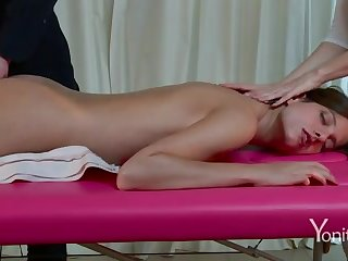 Voluptuous massage unaffected by webcam