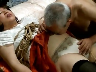 Gentlman hobby is shemale and her bound