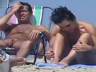 Nude Beach MILFs Voyeur Video